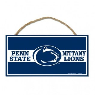 WinCraft, Inc. Nittany Lions Sign with Rope 5x10