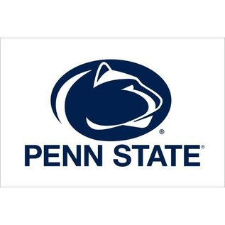 Sewing Concepts White Oval Lion & Penn State 2x3
