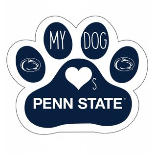 R & R Imports Inc. PSU  Dog Paw Print Magnet