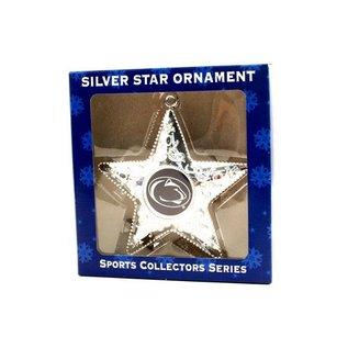 Silver Star Ornament