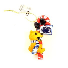Memory Company Penn State Nittany Lion Candy Cane Ornament