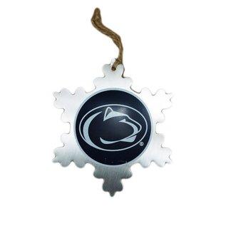 HANNA'S HANDIWORKS Metal Snow Flake Ornament