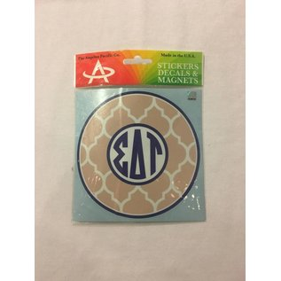Dwellings Monogram Decal SDT