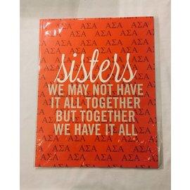 Dwellings Sisters Loft Print ASA