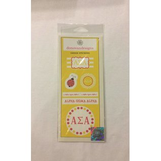 Dwellings Sorority Sticker Sheet ASA