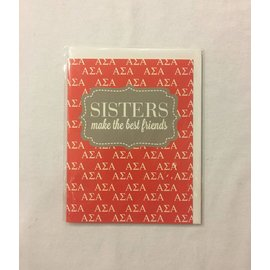 Dwellings Sorority Greeting Cards ASA