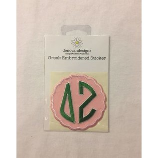Dwellings Embroidered Patch DZ