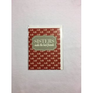 Dwellings Sorority Greeting Card AP