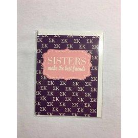 Dwellings Sorority Greeting Cards SK