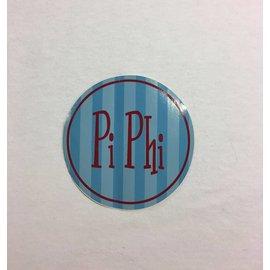 Dwellings Round Bumper Sticker PBP