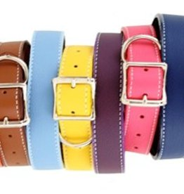 Auburn Leathercrafters Auburn Tuscany Leather Collar Pink