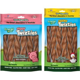 Emerald Pet Emerald Pet Twizzies 6 Pack