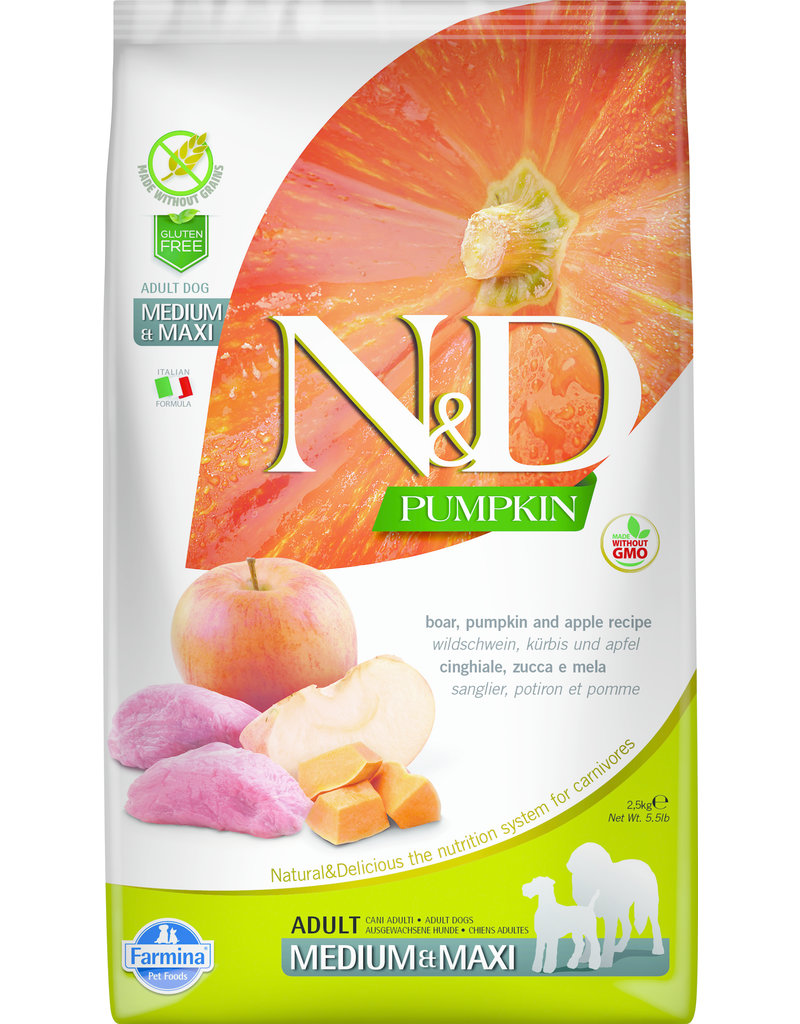 Farmina N & D Pumpkin Dry 5.5lb Bag