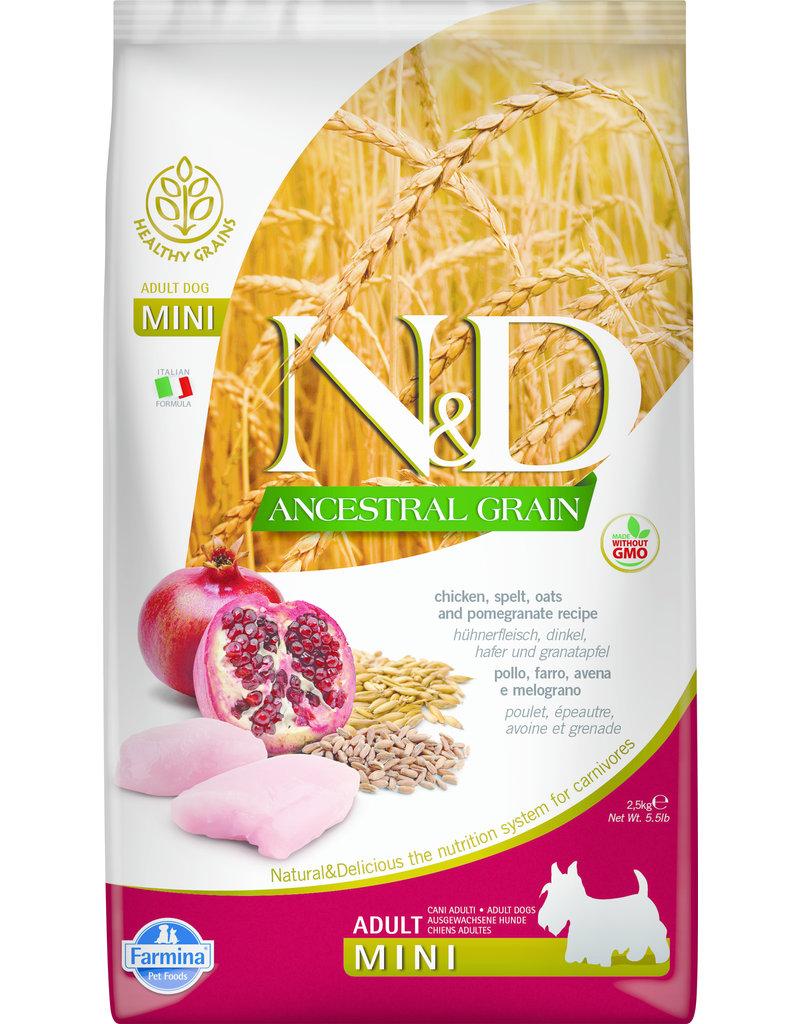 Farmina N & D Ancestral Grain 15.4lb Bags