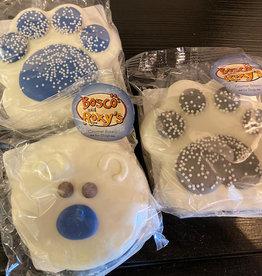 Bosco & Roxy's Snow Cute! Cookie Single Prepackaged Winter Paws