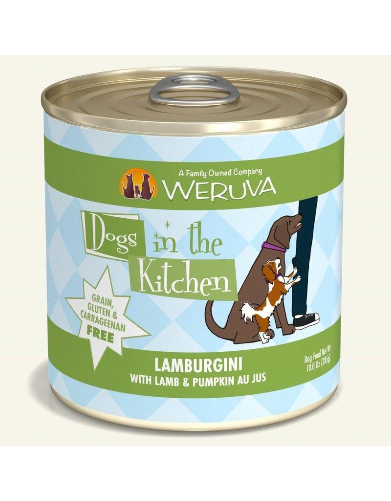 Weruva Dogs in the Kitchen