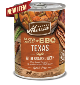 Merrick Merrick Wet Dog Food Slow Cooked BBQ