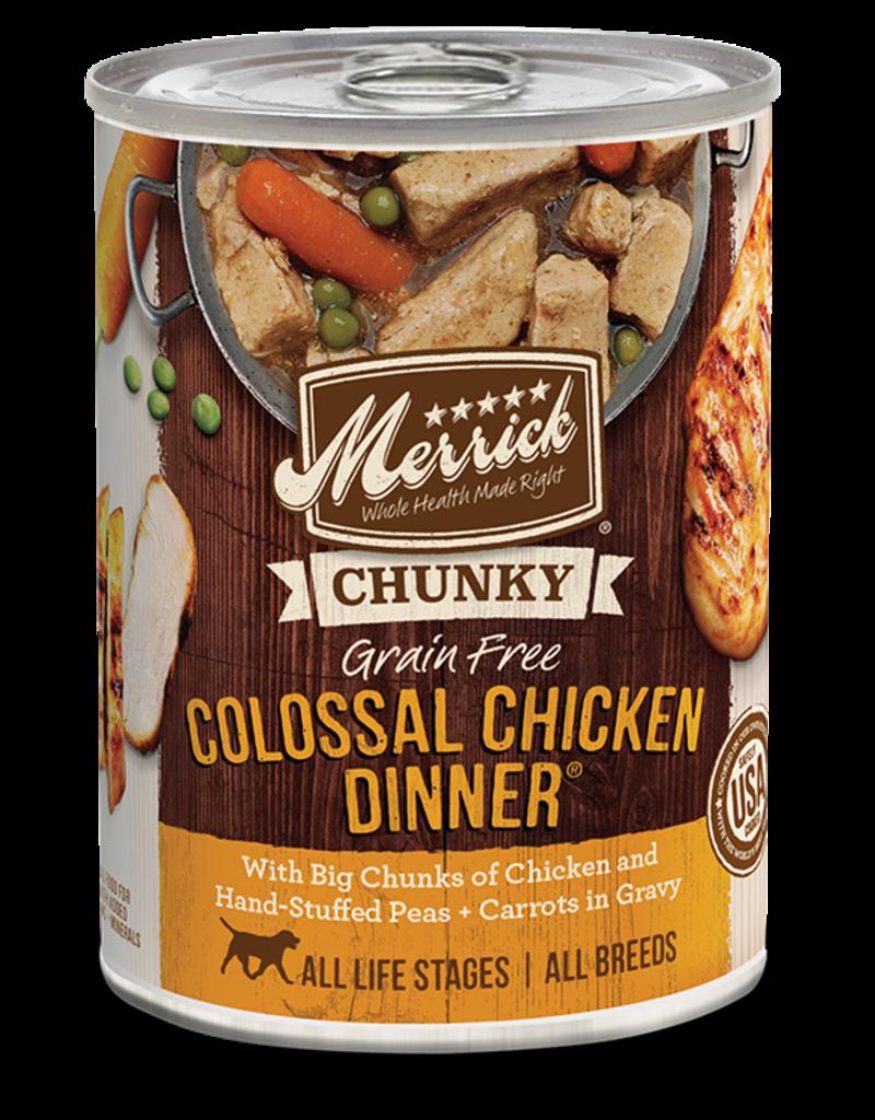 Merrick Merrick Wet Dog Food Chunky Can