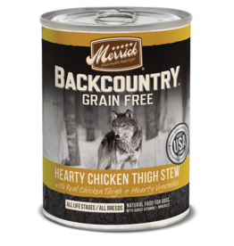 Merrick Merrick Backcountry Wet Dog Food Stew Can
