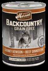 Merrick Merrick Backcountry Wet Dog Food Chunky Can