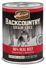 Merrick Merrick Backcountry Wet Dog Food 96% Meat Can