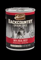 Merrick Merrick Backcountry Wet Dog Food 96% Meat Can