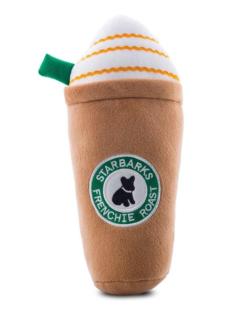 Haute Diggity Dog Haute Diggity Dog Starbarks Frenchie Roast w/Straw Dog Toy