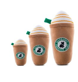 Haute Diggity Dog Haute Diggity Dog Starbarks Frenchie Roast w/Straw Dog Toy