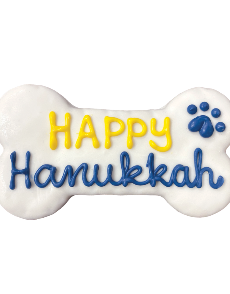 Bosco & Roxy's Happy Hanukkah Cookie