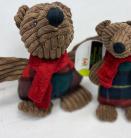 Hugglehounds Hugglehounds Brown Bear Dog Toy