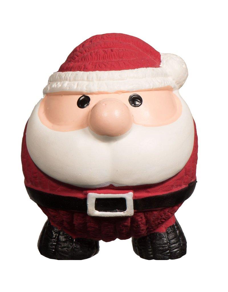 Hugglehounds Hugglehounds Santa Ruff-Tex Dog Toy