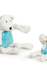 Hugglehounds Hugglehounds Glitz Bear Dog Toy