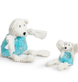 Hugglehounds Hugglehounds Glitz Bear Dog Toy