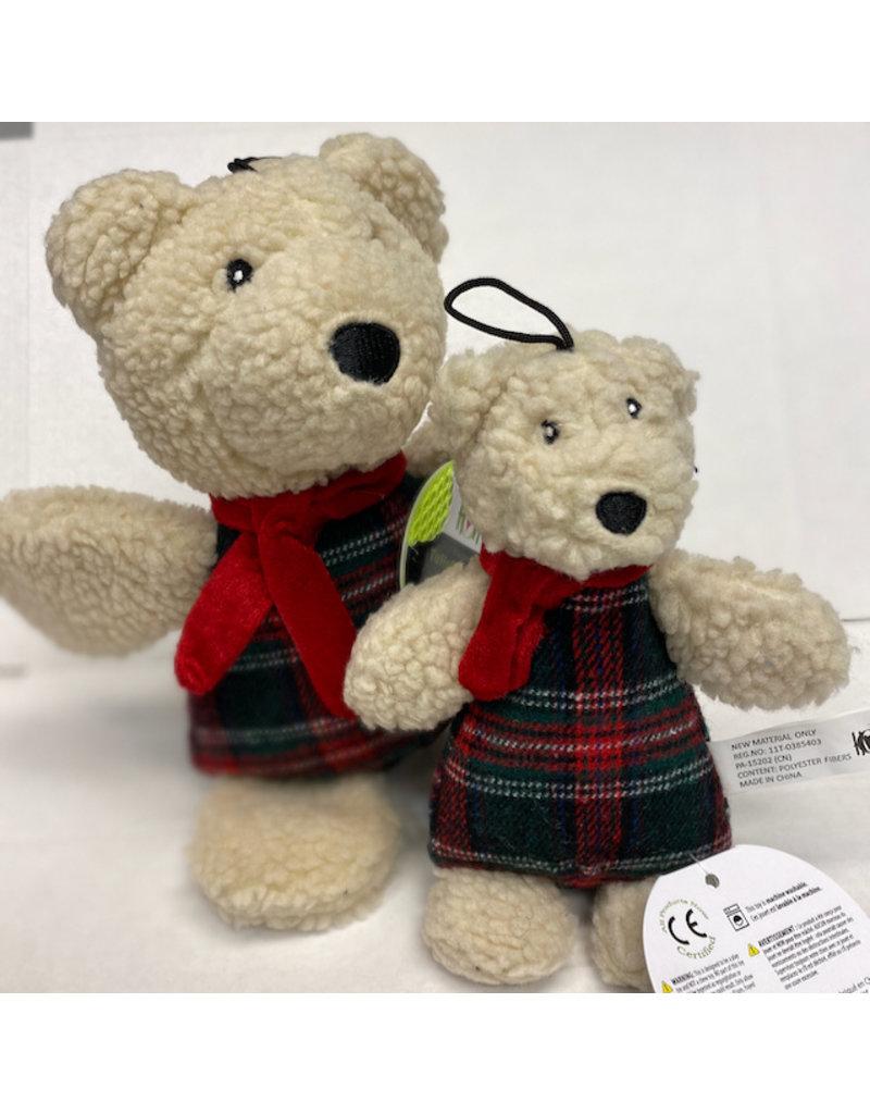 Hugglehounds Hugglehounds Polar Bear Dog Toy