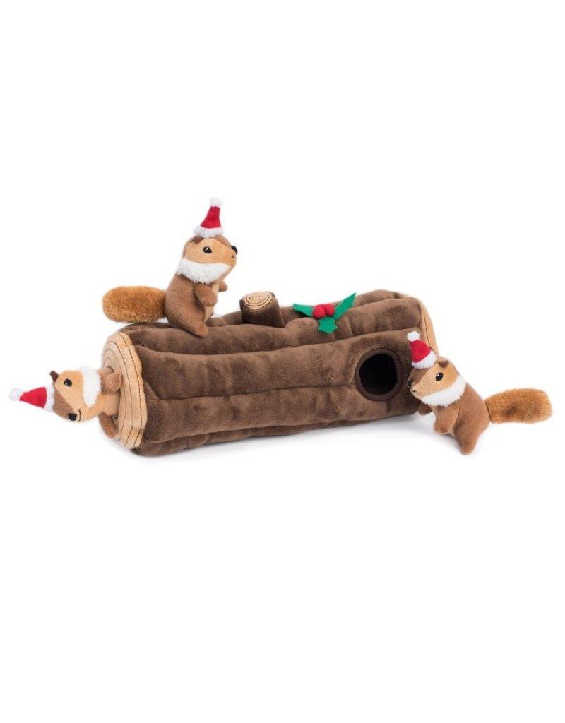 Zippy Paws Holiday Burrow Dog Toy