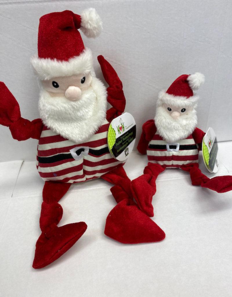 Hugglehounds Hugglehounds Candy Santa Dog Toy