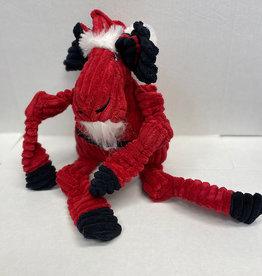 Hugglehounds Hugglehounds Santa Moose Dog Toy