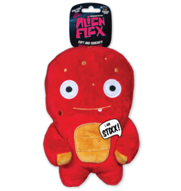 Spunky Pup Spunky Pup Alien Flex Plush Dog Toy
