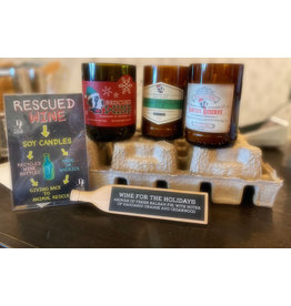 Rescued Wine Candles Rescued Wine Candles Holiday Collection