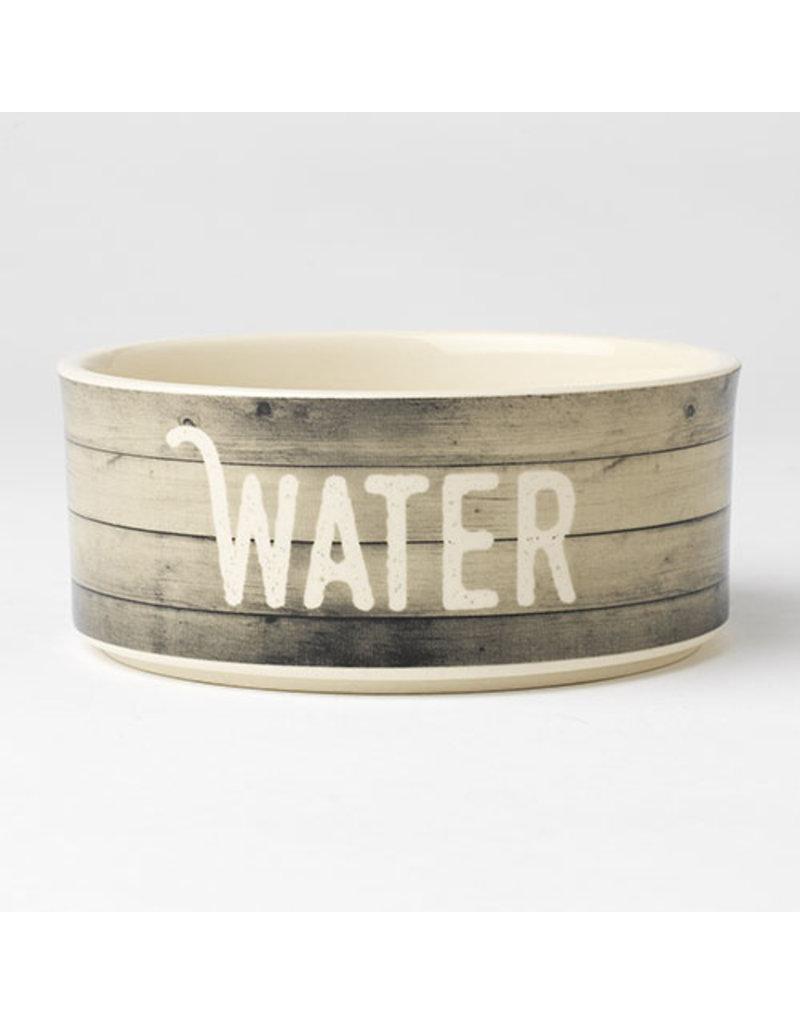 Petrageous Designs Petrageous Designs Farm Dog Stoneware Dog Bowls