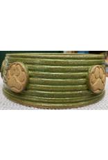 Fatty Frog Pots Fatty Frog Handmade Paw Print Dog Bowls