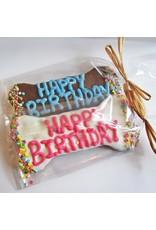 Dog Park Publishing Happy Birthday Dog Bone Cookie
