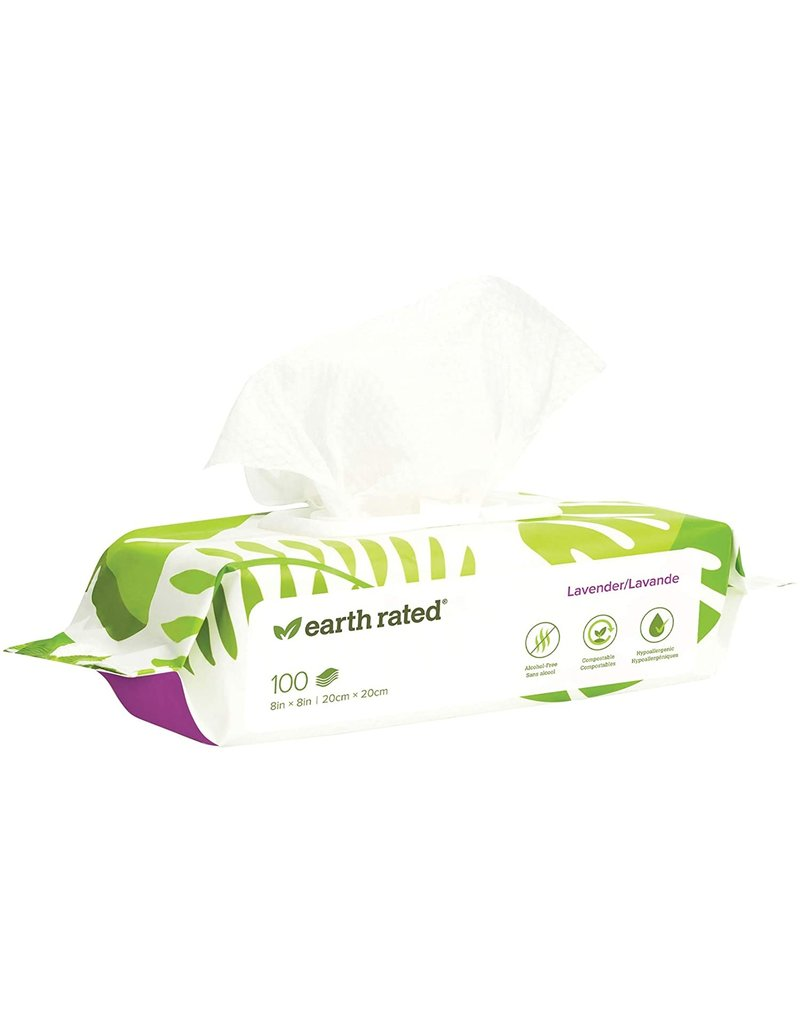 Earth Rated Earth Rated Grooming Wipes