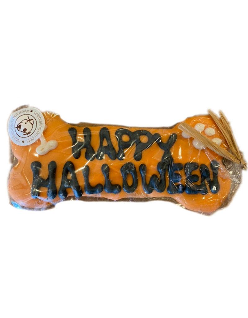 Dog Park Publishing Happy Halloween Dog Bone Cookie