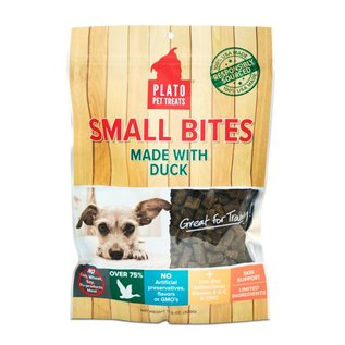 Plato Pet Treats Plato Small Bites Dog Treats