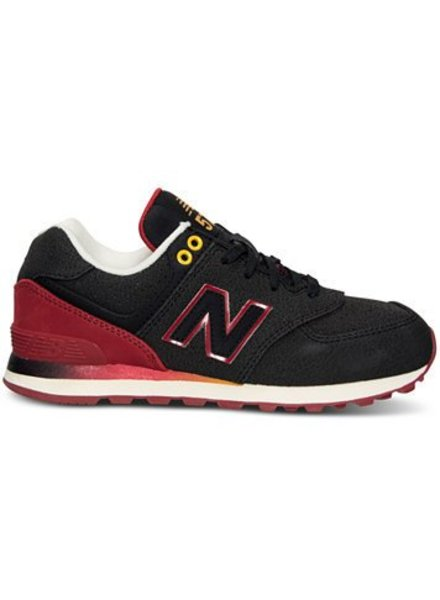New Balance New Balance Kids 574 Lace Trainers