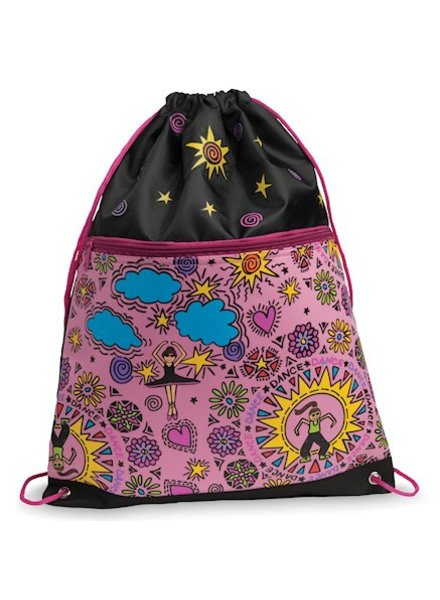 Danshuz Dansbagz by Danshuz COOL DANCER'S Drawstring Back Pack