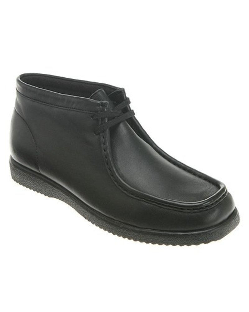 Hush Puppies Hush Puppies LEATHER BRIDGEPORT - Black