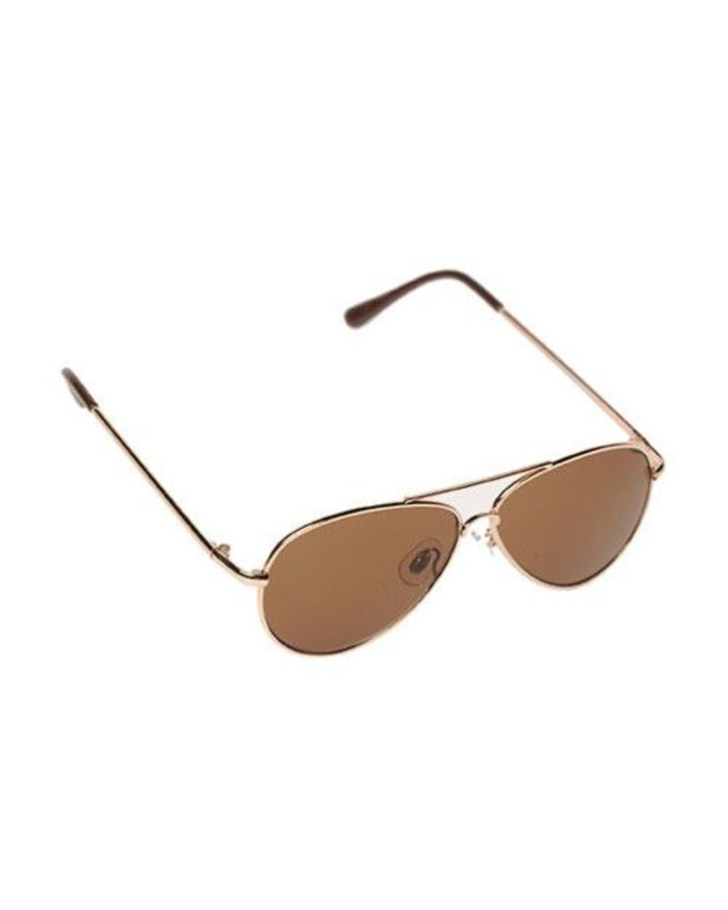 Kids Aviator Sunglasses GOLD'18