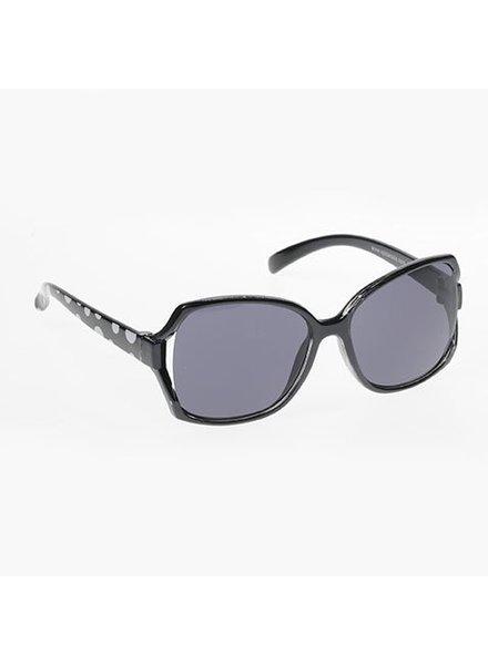 Kids Oversized Sunglasses - BLACK